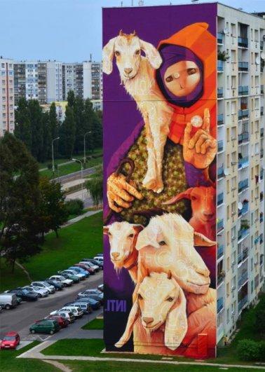 Подборка интересного стрит арта за сентябрь 2013 - №12