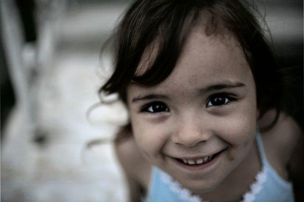 девочка, Абхазия