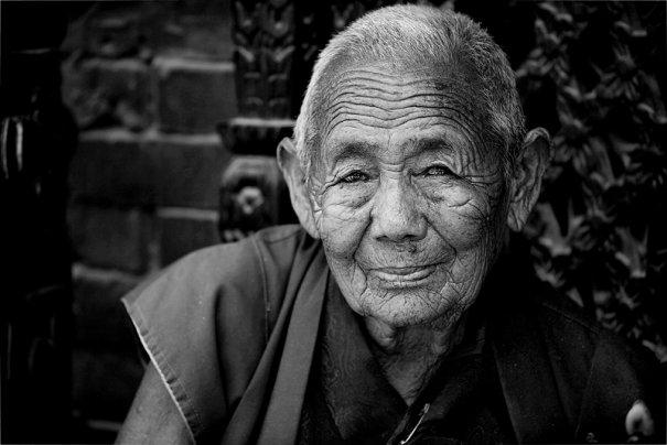 Буддист, Катманду, Непал.