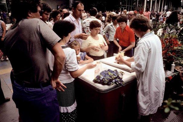 Новости в фотографиях - Цветная история СССР. 1981 год - №12