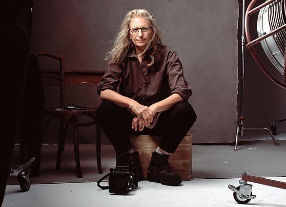 Знаменитый мастер и профессиональный фотограф Энни Лейбовиц - №2