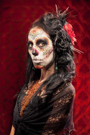 Урок Фотошопа. Портрет в стиле Хэллоуин - №1