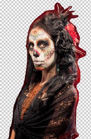 Урок Фотошопа. Портрет в стиле Хэллоуин - №5
