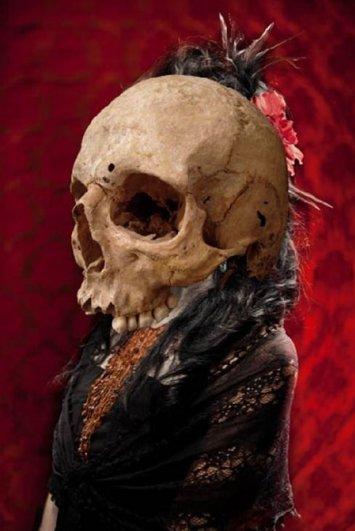 Урок Фотошопа. Портрет в стиле Хэллоуин - №13