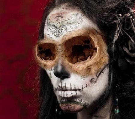Урок Фотошопа. Портрет в стиле Хэллоуин - №17