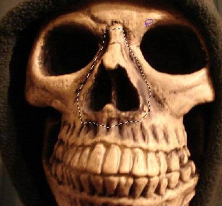 Урок Фотошопа. Портрет в стиле Хэллоуин - №20