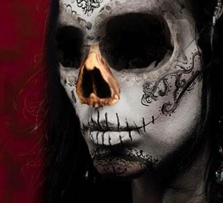 Урок Фотошопа. Портрет в стиле Хэллоуин - №22