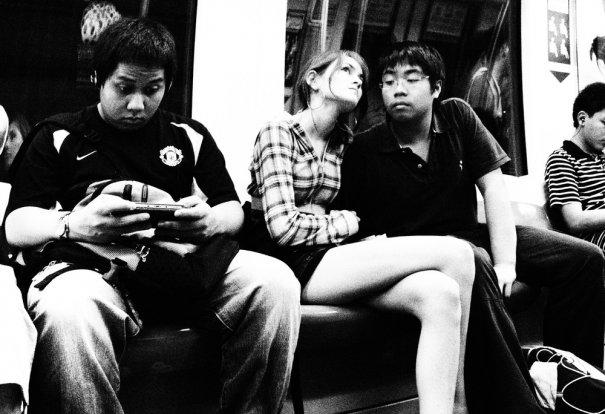 Новости в фотографиях - Кипящая жизнь в общественном транспорте - №7