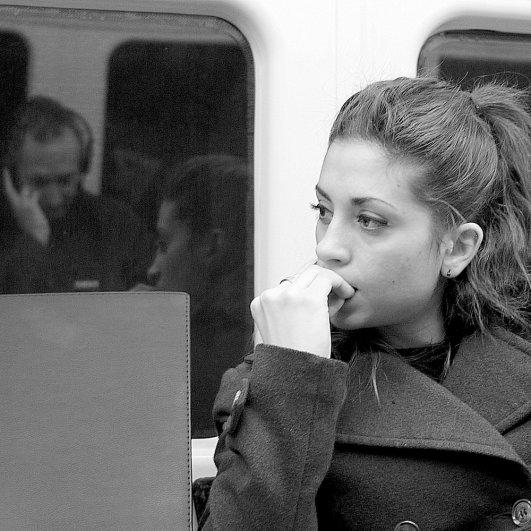 Новости в фотографиях - Кипящая жизнь в общественном транспорте - №13