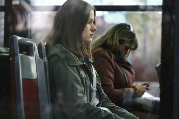 Новости в фотографиях - Кипящая жизнь в общественном транспорте - №23