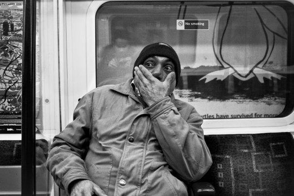 Новости в фотографиях - Кипящая жизнь в общественном транспорте - №26