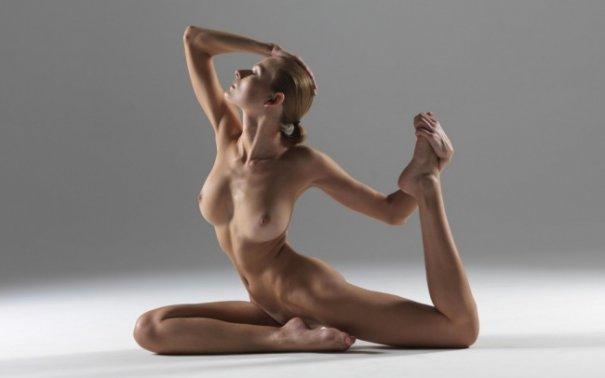 Релаксирующая йога в жанре Ню - №1