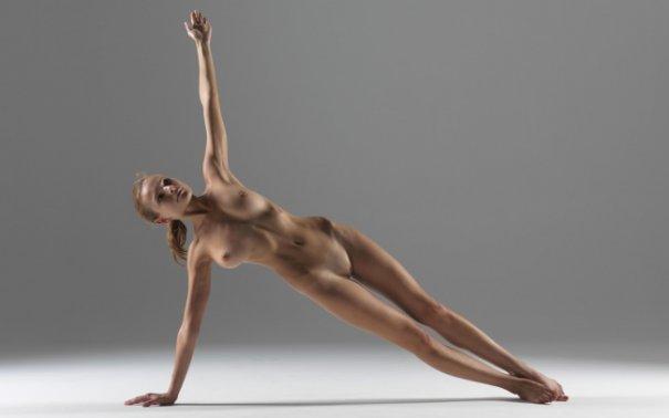Релаксирующая йога в жанре Ню - №6