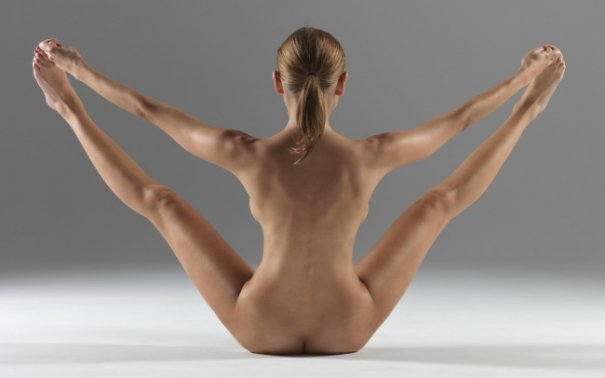 Релаксирующая йога в жанре Ню - №8