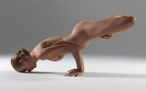 Релаксирующая йога в жанре Ню - №9