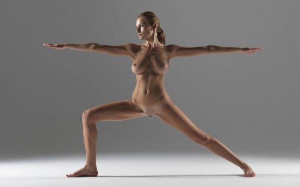 Релаксирующая йога в жанре Ню - №10