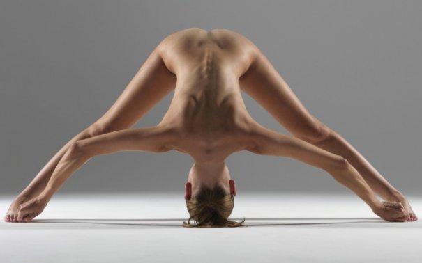 Релаксирующая йога в жанре Ню - №14