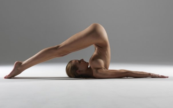 Релаксирующая йога в жанре Ню - №17