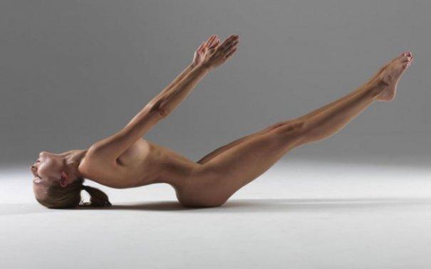 Релаксирующая йога в жанре Ню - №19