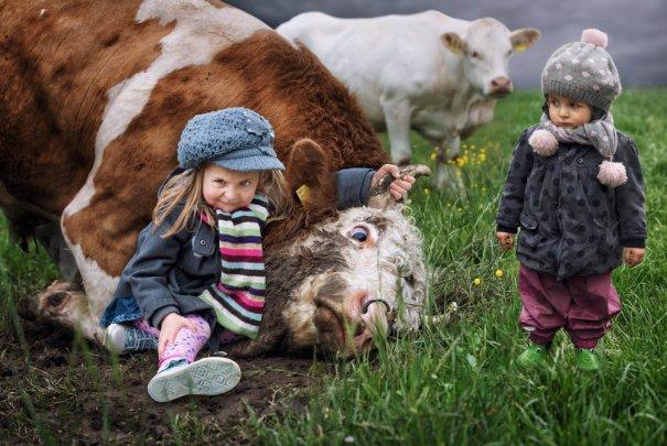 Детский креатив в обработке профессионального фотографа - №3