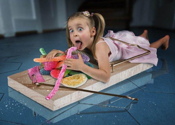 Детский креатив в обработке профессионального фотографа - №8
