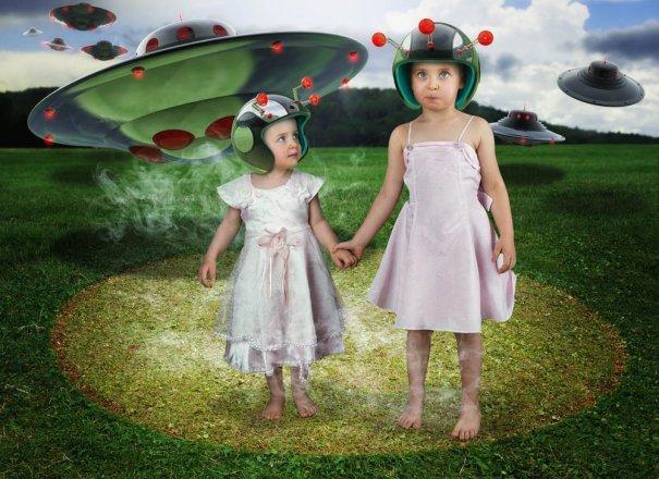 Детский креатив в обработке профессионального фотографа - №9