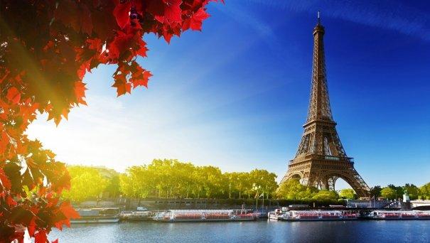 Знаменитая Эйфелева башня (Eiffel tower) - красивые фото - №2
