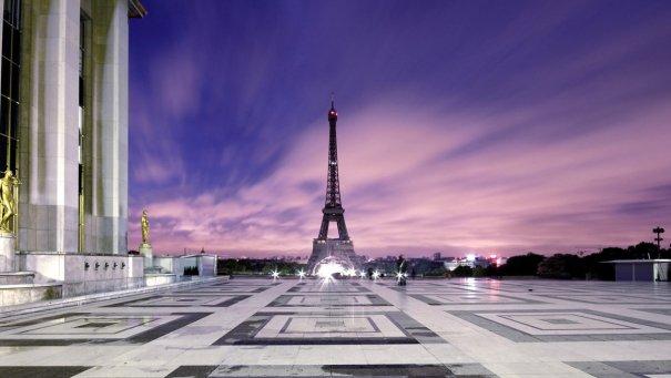 Знаменитая Эйфелева башня (Eiffel tower) - красивые фото - №3