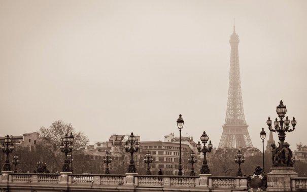 Знаменитая Эйфелева башня (Eiffel tower) - красивые фото - №7