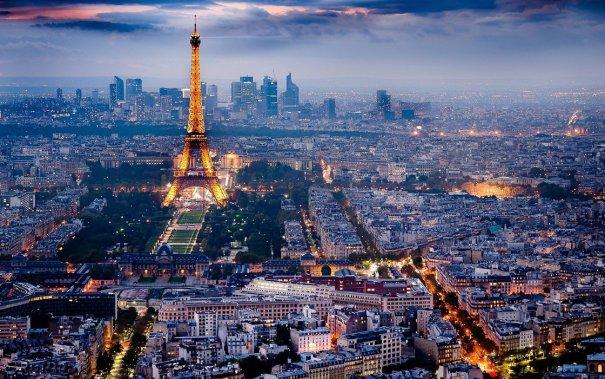 Знаменитая Эйфелева башня (Eiffel tower) - красивые фото - №15