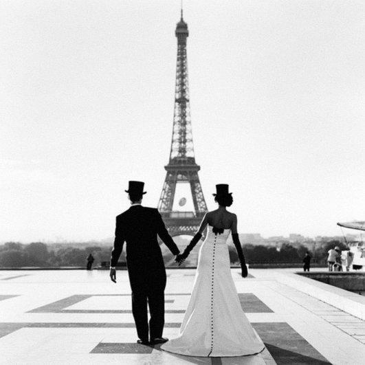 Знаменитая Эйфелева башня (Eiffel tower) - красивые фото - №18