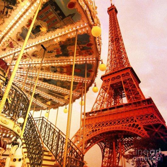 Знаменитая Эйфелева башня (Eiffel tower) - красивые фото - №19