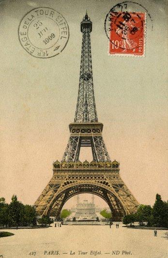 Знаменитая Эйфелева башня (Eiffel tower) - красивые фото - №23