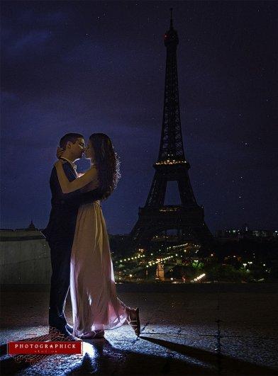 Знаменитая Эйфелева башня (Eiffel tower) - красивые фото - №25