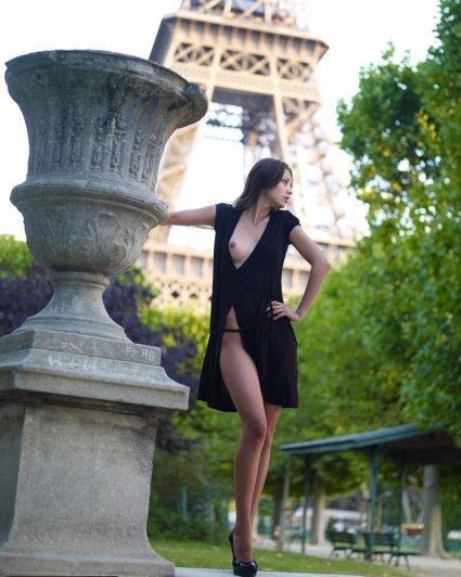 Знаменитая Эйфелева башня (Eiffel tower) - красивые фото - №27