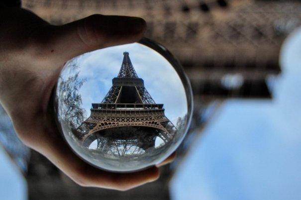 Знаменитая Эйфелева башня (Eiffel tower) - красивые фото - №31