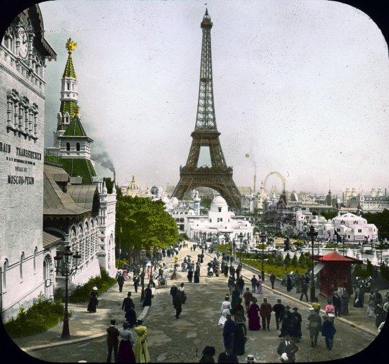 Знаменитая Эйфелева башня (Eiffel tower) - красивые фото - №34