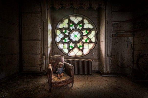 Профессиональный фотограф Ники Фейен. Заброшенные места - №1