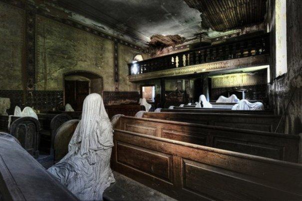 Профессиональный фотограф Ники Фейен. Заброшенные места - №3