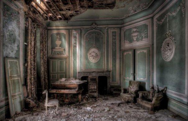 Профессиональный фотограф Ники Фейен. Заброшенные места - №7