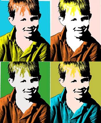 фото pop-art в фотошопе 2
