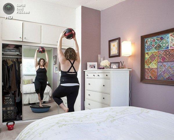 Интересные фотографии женских спален из проекта «Зеркала и Окна» - №23