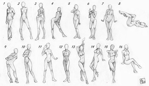 Фотокрут   .  Топ  50  картинок  , позы для    моделей ,   очень полезный  материал . № 11 - №15