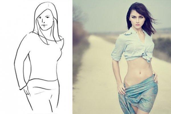Фотокрут   .  Топ  50  картинок  , позы для    моделей ,   очень полезный  материал . № 11 - №21
