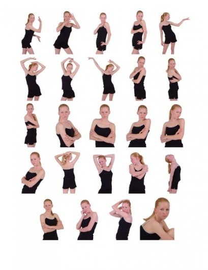 Фотокрут   .  Топ  50  картинок  , позы для    моделей ,   очень полезный  материал . № 11 - №26