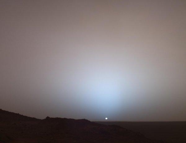 Марсианские сумерки