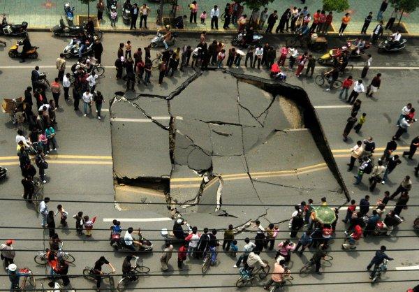 Загадка провалов в земле - смотрите интересные фото - №4