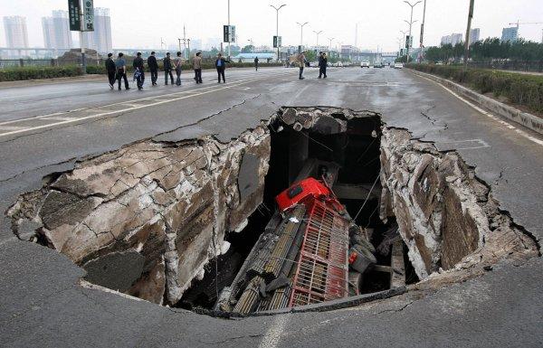 Загадка провалов в земле - смотрите интересные фото - №7