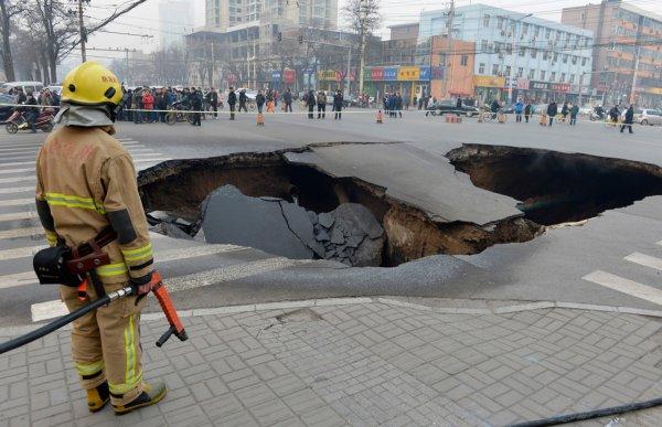Загадка провалов в земле - смотрите интересные фото - №9