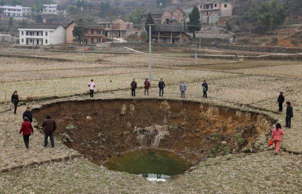 Загадка провалов в земле - смотрите интересные фото - №10